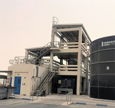 Effluent Treatment System Takes Only a Small Area